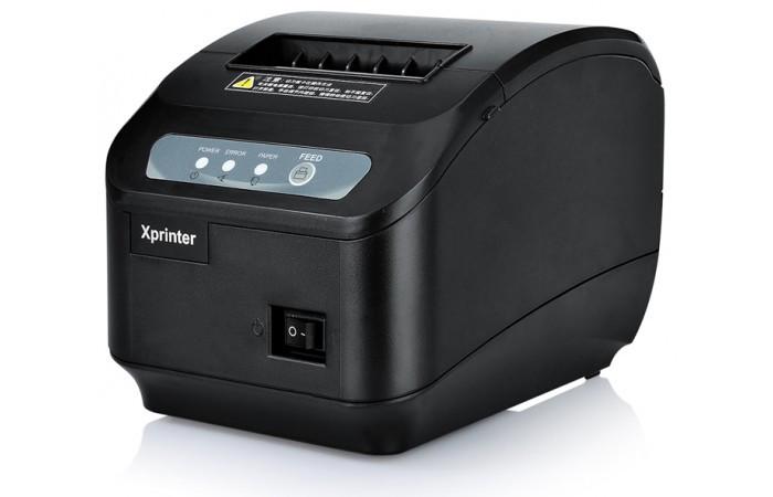 Чековый принтер с автообрезкой Xprinter XP-Q200II (USB)