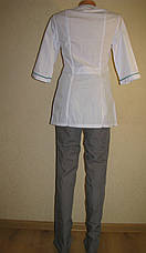 Медицинский костюм женский 22105 ( батист 60-70 р-ры ), фото 3