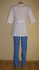 Медицинский костюм женский 22107 ( батист 42-60 р-ры ), фото 3
