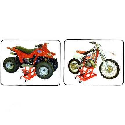 Подъемник для мотоцикла 140-410мм 400кг   T64001G (T66  TORIN  T64001G, фото 2
