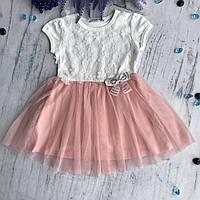 Летнее платье на девочку Breeze 12-1/33. Размеры  92 см, 98 см,116  см