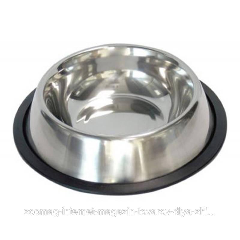 Миска из нержавеющей стали для собак 29,5 см / 1550 мл