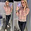 Блузы женская с гипюром 02819 Аф
