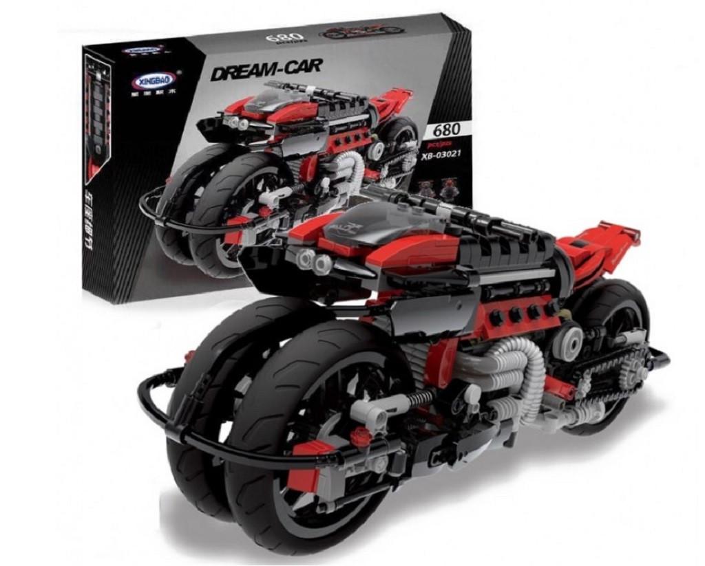 Конструктор Dream Car 03021 MOTO 680 дет