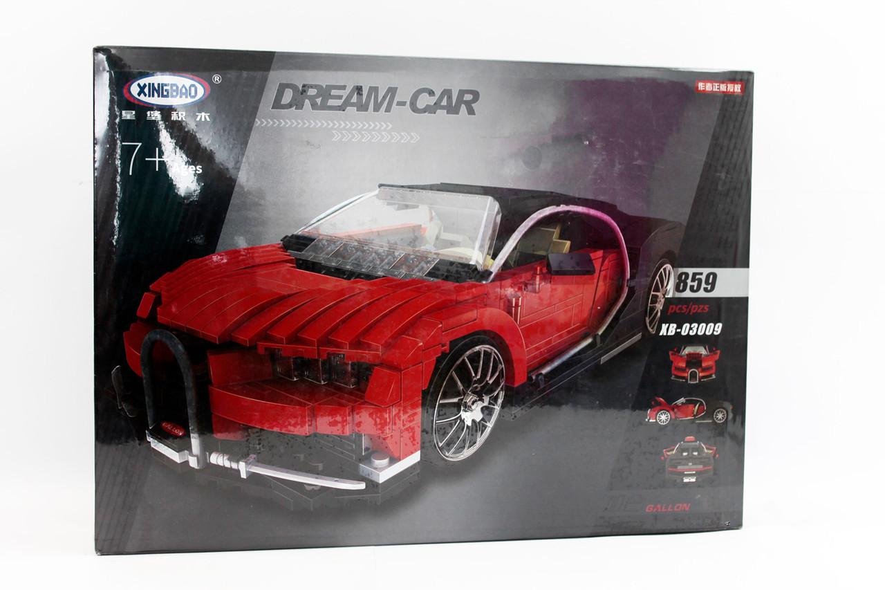 Конструктор LEPIN XB03009 Dream-Car 809 дет