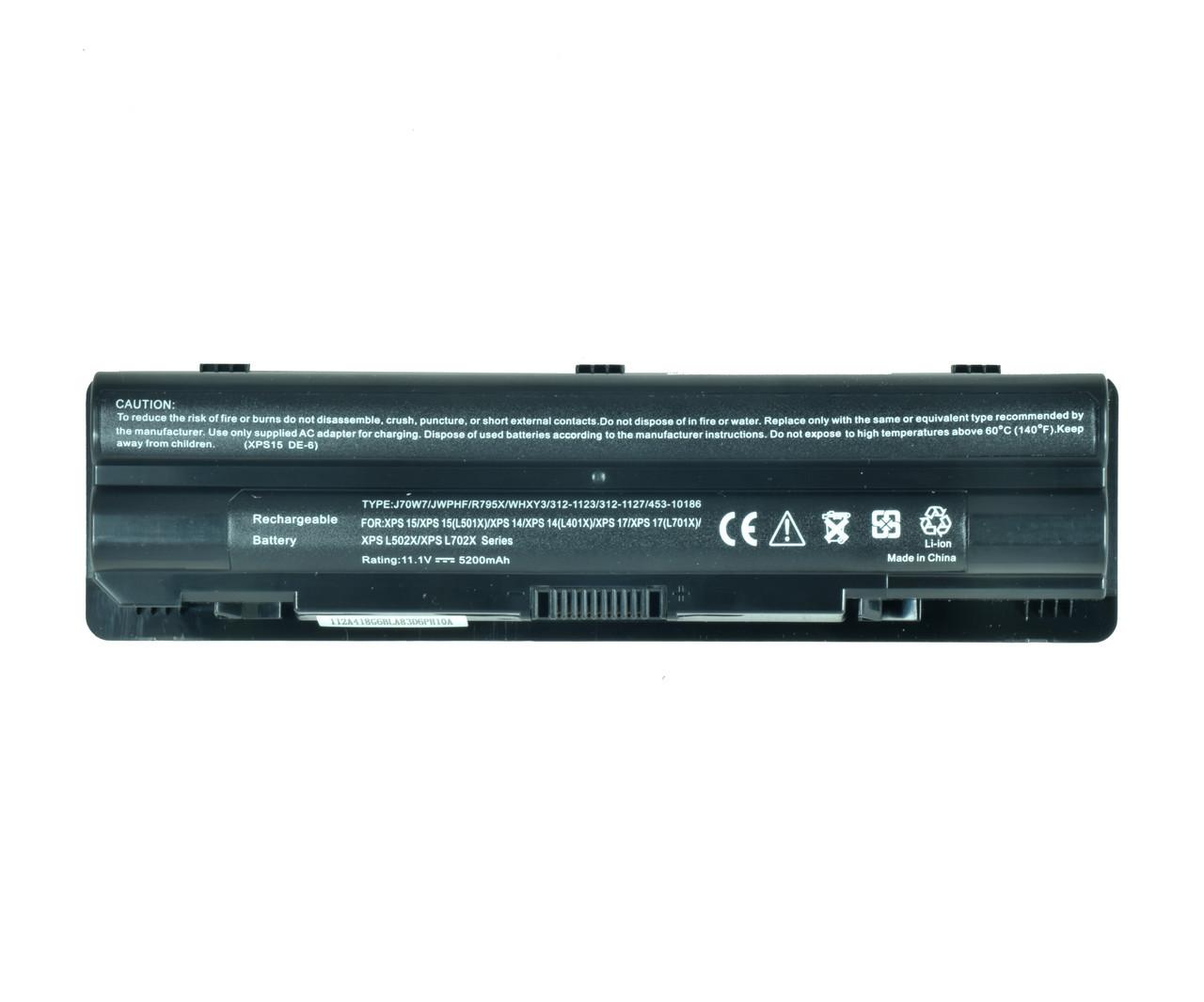 Батарея для ноутбука DELL J70W7 JWPHF R795X WHXY3 312-1123 312-1127 453-10186