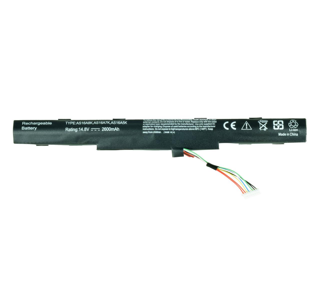 Батарея для ноутбука ACER AS16A8K AS16A5K AS16A7K 4ICR19/66