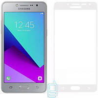 Защитное стекло (захисне скло) Full Glue Samsung Grand Prime G530, J2 Prime G532 белое тех.пакет