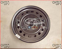 Диск колесный, стальной, R15, Geely FC, 1064000183, Original parts