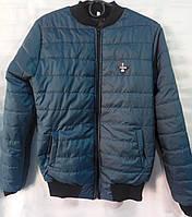 Куртка-бомбер однотонная женская (ПОЛУБАТАЛ), фото 1
