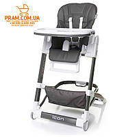 4BABY ICON стульчик для кормления Grey Серый