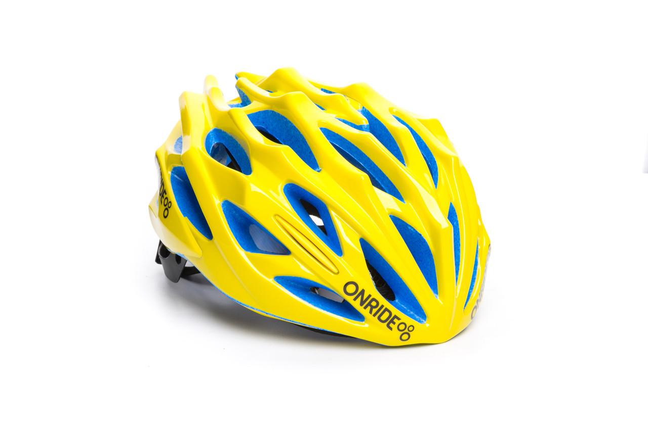 Шолом велосипедний ONRIDE Serval M Yellow (55-58 см)