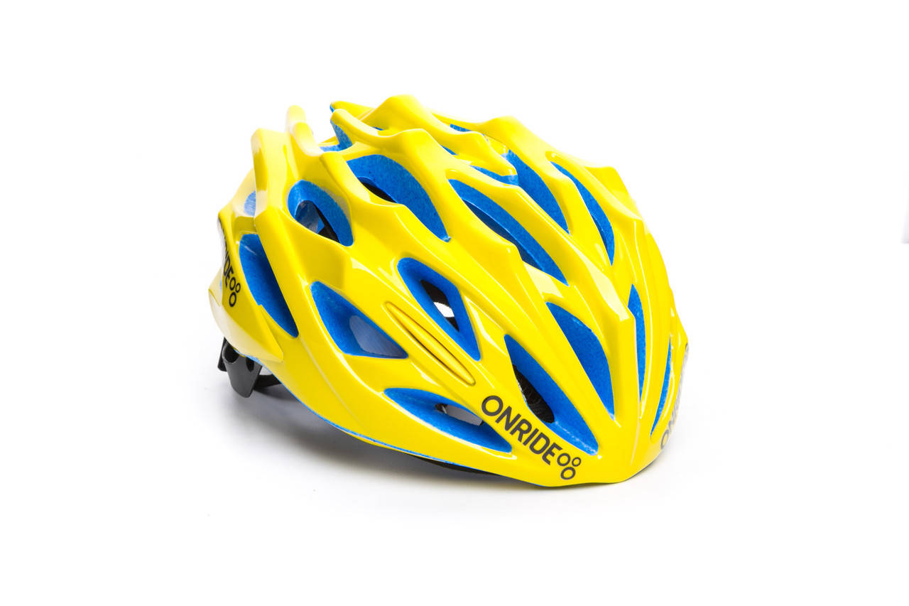Шолом велосипедний ONRIDE Serval M Yellow (55-58 см), фото 2