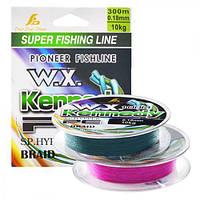 Шнур рыболовный WSI51189 (506)-150, длина, 300м*0.18/0.20/0.22мм, МИКС, рыбацкий шнур, шнур для ловли рыбы