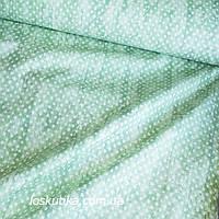 36004 Горох светло-зеленый (потертый). Ткани для пэчворка, хенд-мэйд изделий и для декорирования.