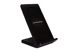 Беспроводное зарядное устройство - подставка KERNER черная