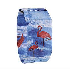 Бумажные часы Paper Watch Фламинго
