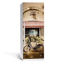 Наклейка на холодильник Ретро (пленка виниловая самоклеющаяся, декор холодильника)