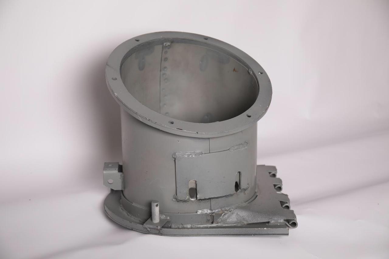 Патрубок 54-6-3-2-1Б угловой шнека выгрузного НИВА СК-5