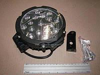 Фара LED круглая 96W, 32 лампы, 225*225мм, узкий луч (ТМ JUBANA)
