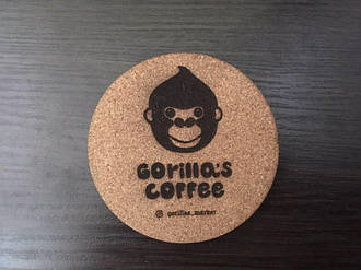 Костер пробковый (1шт) Gorillas Coffee