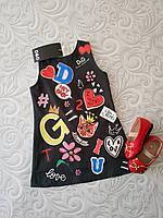 Яркое платье Dolce Gabbana, расцветки