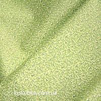 47025 Горошек на узоре (зеленый фон). Ткань в горох. Ткани для декорирования, для кукол и лоскутного шитья.