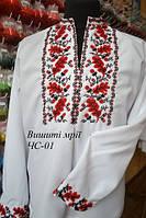 Мужская заготовка сорочки ЧС-01