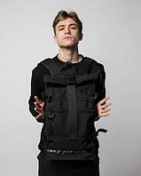 Рюкзак роллтоп цвет черный бренд ТУР модель Akuma (Акума)