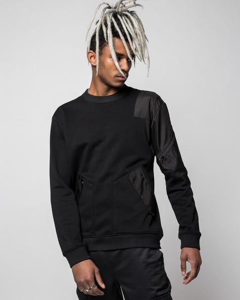 Свитшот мужской черный от бренда ТУР Такеда (Takeda) размер S, M, L, XL, XXL