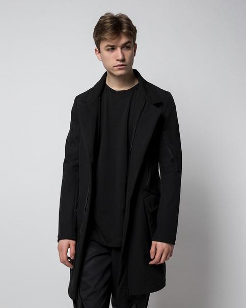 Плащ пальто з Softshell бренд ТУР модель Yakuza (Якудза) розмір XS, S, M, L, XL, XXL