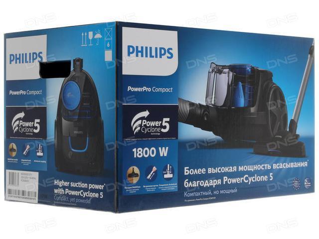 Пылесос без мешка PHILIPS PowerPro Compact FC9350/01