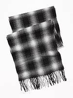 Шарф теплый мужской Old Navy фирменный мужские шарфы классика в клетку