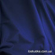 49011 Горошек на темном синем фоне. Ткани для шитья и рукоделия и для изделий ручной работы, пэчворка., фото 2