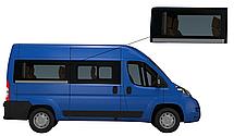 Боковое стекло средняя база Peugeot Boxer 2007-2019 заднее правое