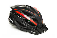 Шолом велосипедний  ONRIDE GRIP L Black Red