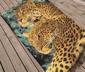 """Пляжний рушник """"Леопард"""""""
