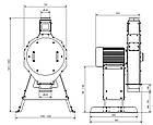 Дробилка зерна молотковая RVO 853 (Германия), фото 8