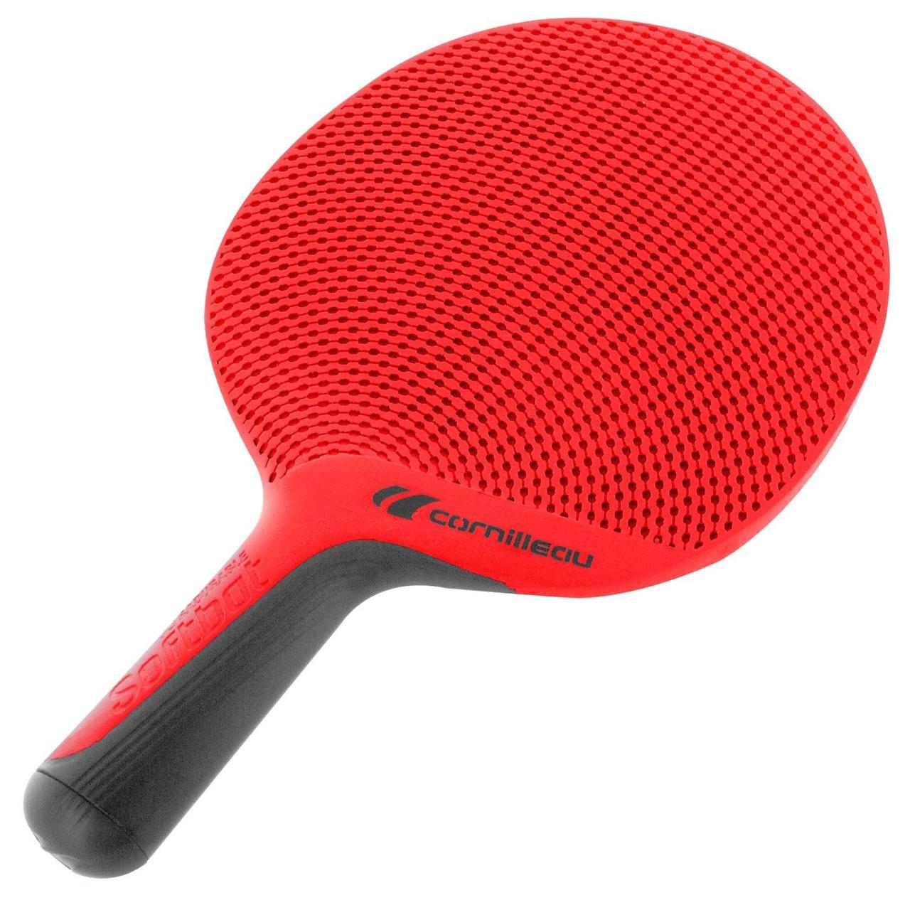 ... Ракетка для настольного тенниса Cornilleau Softbat (красная) 7ea01640f7691