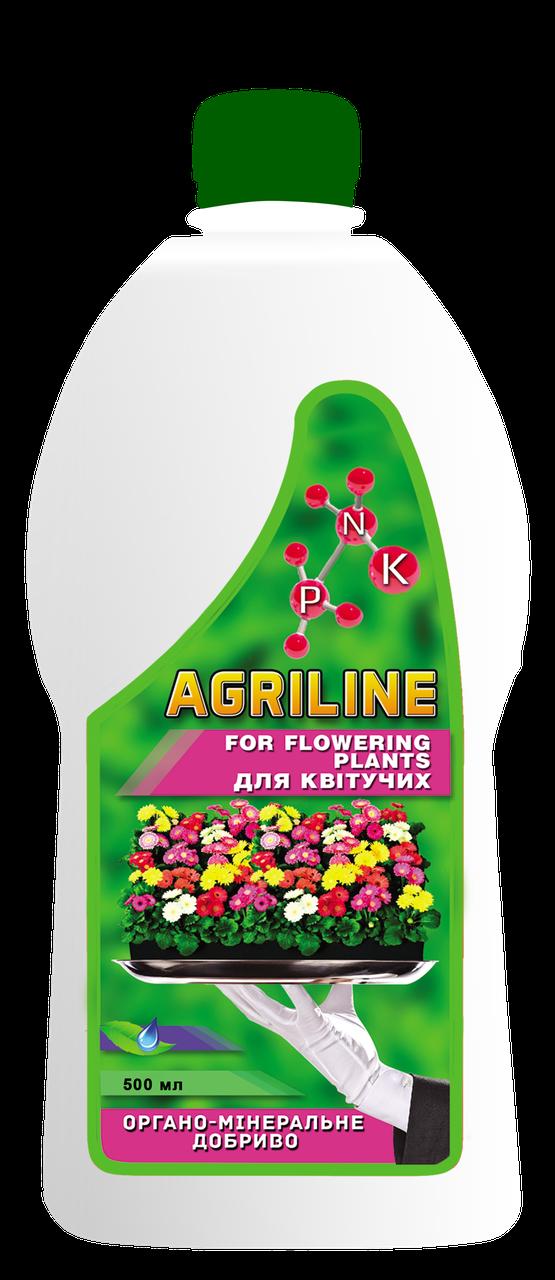 Органо-минеральное удобрение для цветущих, 500 мл