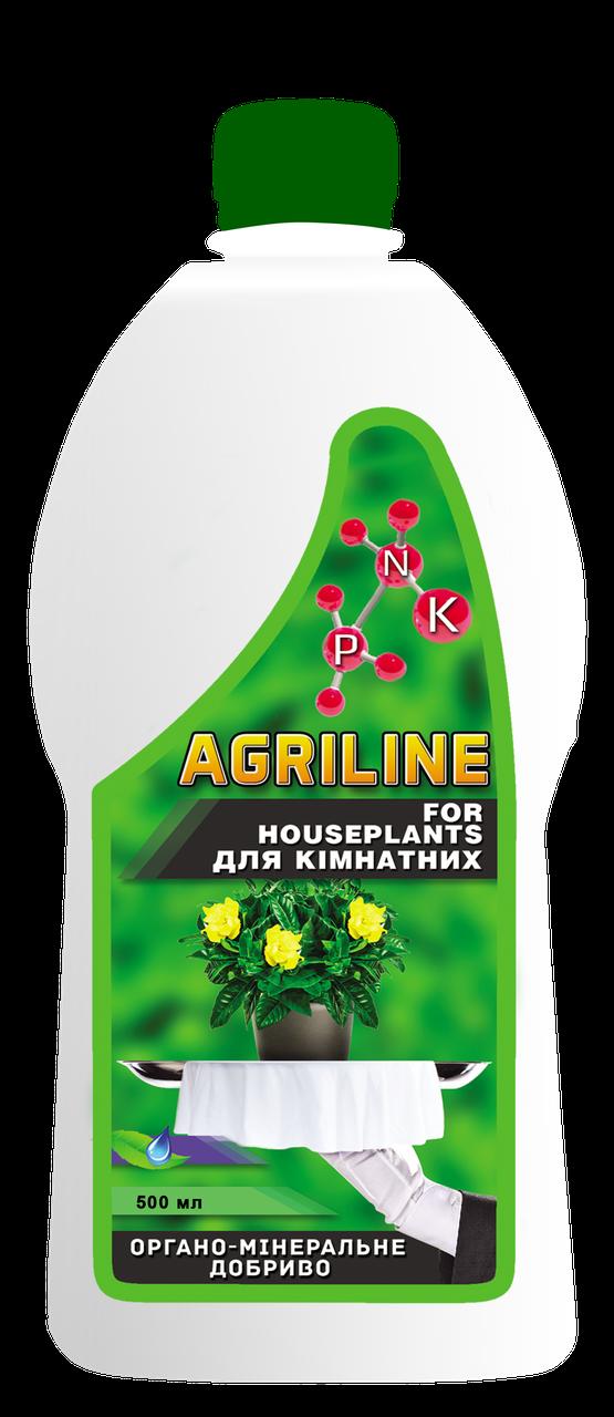 Органо-мінеральне добриво для кімнатних рослин, 500 мл