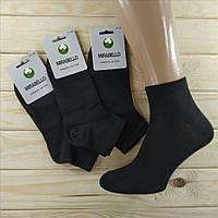 Носки демисезонные мужские  MIRABELLO Турция organik cotton 41-44р чёрные НМД-0510132