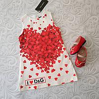Яркое платье Dolce Gabbana, расцветки, фото 1