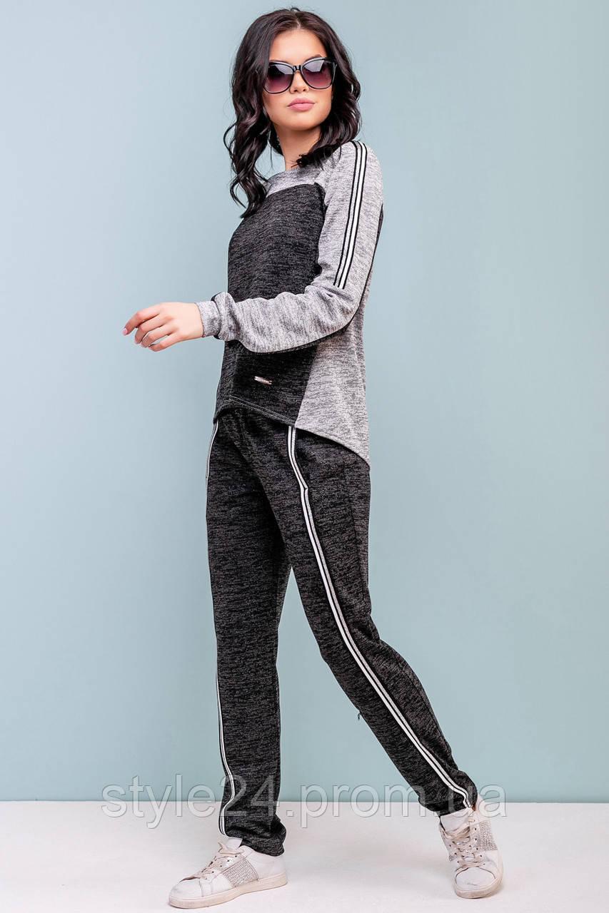 ЖІночий спортивний костюм з люрексною ангорою .Р-ри 44-50