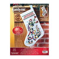 Набор для вышивания Janlynn 080-0477 Penguin Joy Stocking