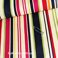 41030 Полосы в цвете. Ткани в полоску для рукоделия, декора, для кукол и лоскутного шитья.
