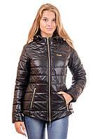 Куртка женская демисезонная 2016В (чёрный)