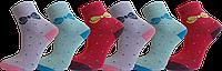 """Шкарпетки дитячі для дівчат махра бант """"lomani"""""""