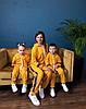 Костюм спортивный мама/дочка/сын. Ткань дайвинг, размер мама С-М, М-Л, фото 3