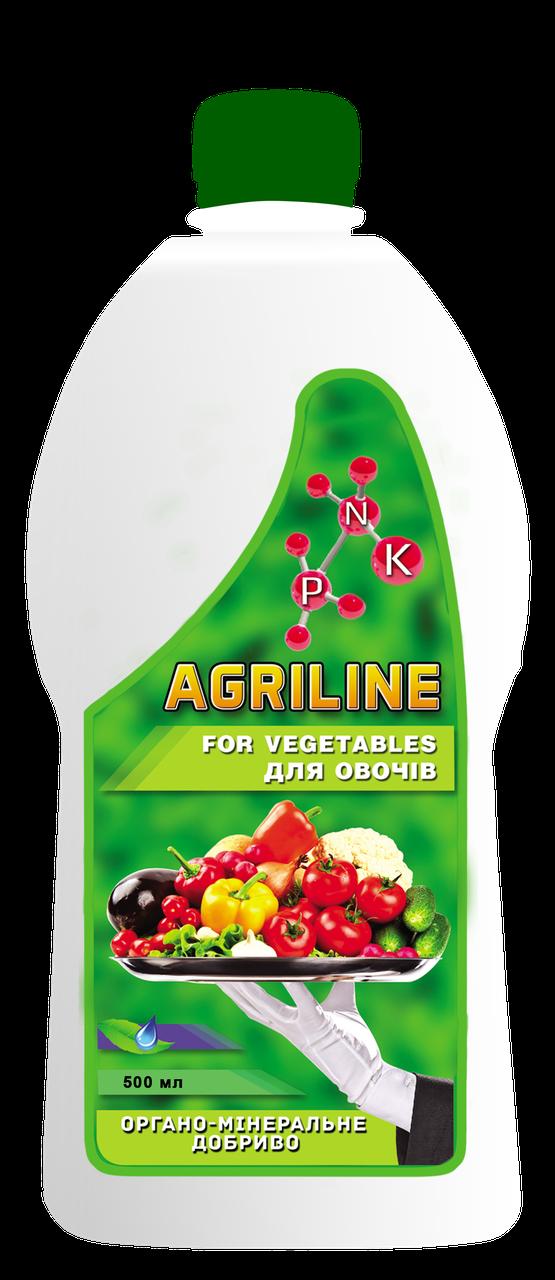 Органо-мінеральне добриво для овочів, 500 мл